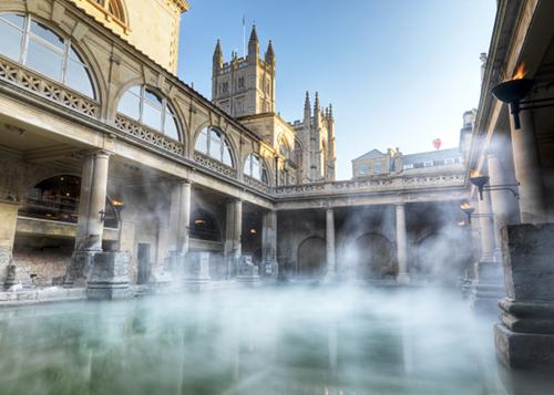 Baños Romanos Inglaterra:Roman Baths England